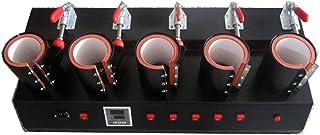 5 in 1 Mok/Cup Drukmachine Handmatige Mok Pers Machine Warmtepers Sublimatie Mok Machine