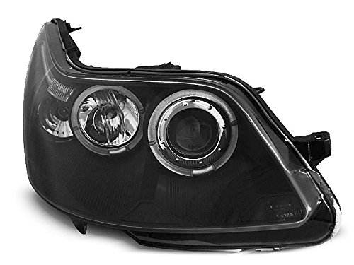 Koplamp Citroen C4 04-10 Angel Eyes zwart (I10)
