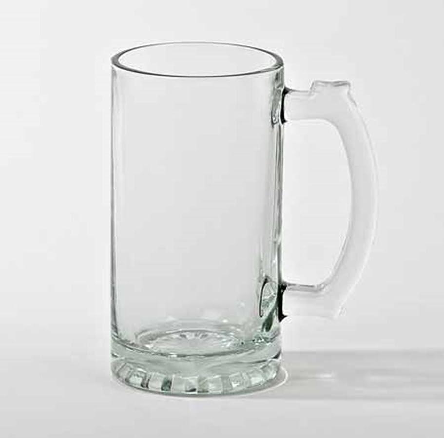 ドレインとティーム合金Creative Gifts International 011071 16 oz Pint Tankard Glass, Clear