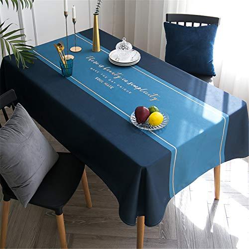 CCBAO Mantel De Algodón Y Lino, Mantel Impermeable, Mantel Rectangular, Funda De Sofá, Mueble De TV, Mantel De Comedor 110x170cm