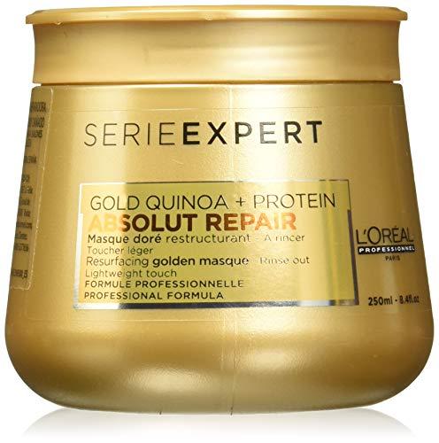 L'Oréal Professionnel Série Expert Absolut Repair Gold Quinoa + Proteïne Resurfacing gouden masker - reparerend masker, 250 ml