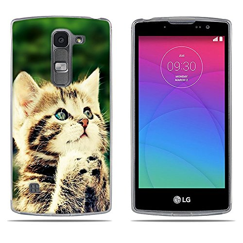 DIKAS für Huawei für LG Spirit 4G LTE, H440N, H420 Hülle, 3D Erleichterung Fantasie Muster Künstlerische Malerei-Reihe TPU Case Schutzhülle Silikon Case für LG Spirit 4G LTE (H440N H420) - Pic: 10
