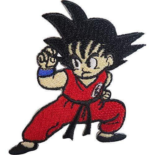 ELLU Dragon Ball Z Parche Bordado Insignia Hierro Coser En Camiseta Jeans Bolsa Chaqueta Gorra