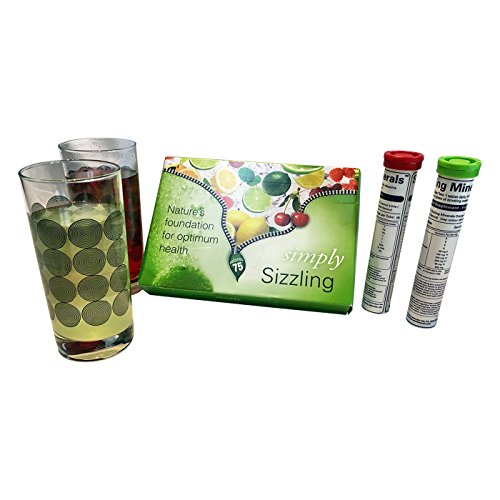 Simply Natural Pure Plant Derived Sizzling Minerals (Cherry Berry + Lemon/Lime Flavour)