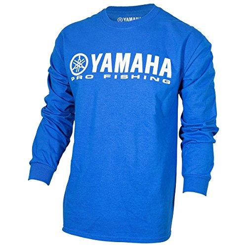 OEM Yamaha Pro Fishing 100% Cotton Long Sleeve Blue T-Shirt X-Large