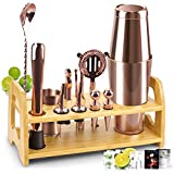 Bartender Kit, 13 Pcs Boston Cocktail Shaker