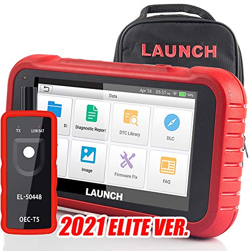 LAUNCH OBD2 Scanner CRP123E(Upgraded Ver.of CRP123) Engine Transmission ABS Airbag Scan Tool Code Reader ,Wi-Fi Free Update,Android 7.0, TPMS As Gift