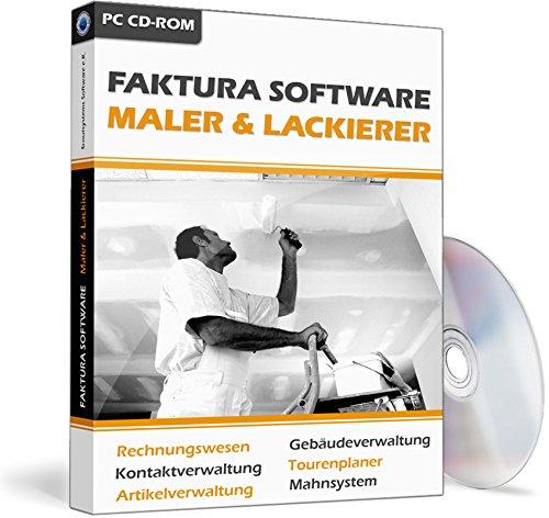 Faktura Software Maler & Lackierer - Rechnungsprogramm