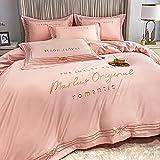 funda nordica cama 90,CUBIERTA DE REY DIVET, HOJA AJEADA Y 2 CONJUNTO DE Ropa de cama de funda de almohada, tapa de acolchado de microfibra suave Pintuck para el tamaño de Decro Home Dockro-mi_Cama d
