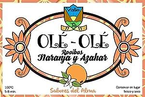 Rooibos avec Orange et fleur d'oranger.-Ole Ole. Lata Bulk grammes