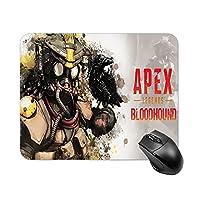 Apex Legends 耐久性のあるマウスパッド 滑り止め ワイヤレスマウスラップトップコンピュータオフィスデスクホーム用の滑らかな布マウスマット 20*25cm
