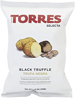 Torres Selecta Potato Chips, Black Truffle, 40g