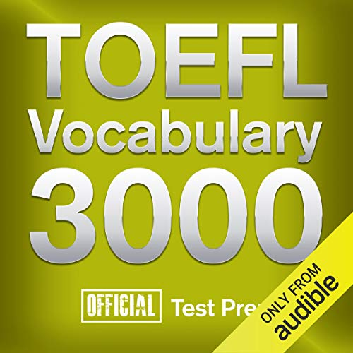 『Official TOEFL Vocabulary 3000』のカバーアート