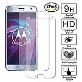 [2 Pack] Guran® Pellicola Protettiva ultra Resistente in Vetro Temperato per Motorola Moto X4 Smartphone Ultra Sottile Screen Protector Film