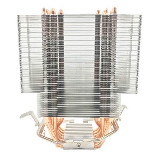 DJY-JY Fanless CPU Cooler 12 cm Ventilador 6 tampones de Calor de Cobre Radiador de enfriamiento sin Ventilador for LGA 1150/1151/1155/1156/1166/775/2011