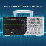 Regalo DiferenteOsciloscopio de 4 canales, 220V DSO4254C Osciloscopio de almacenamiento digital 64K 4CH 250MHz Fuente de señal 1GSa/s