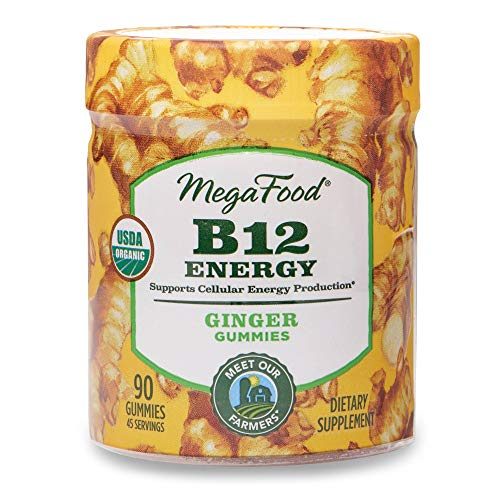 MegaFood Certified Organic B12 Energy Ginger Gummies review