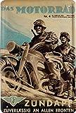 Froy Ndapp Motorrad Bike Wehrmacht Soldaten Wand