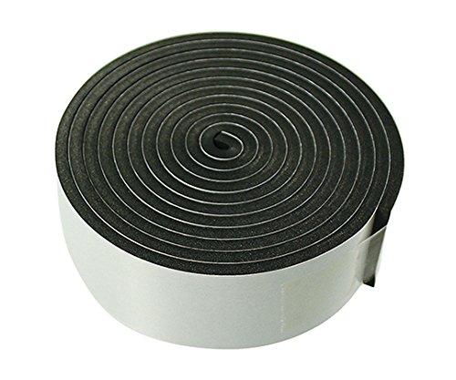 7-1696-02セーフティクッション(粘着タイプ)黒35mm×2m