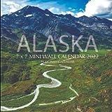 Alaska 7 x 7 Mini Calendar 2022: 16 Month Calendar