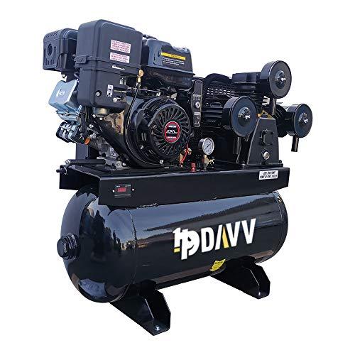 HPDAVV Gas Driven Piston Air Compressor