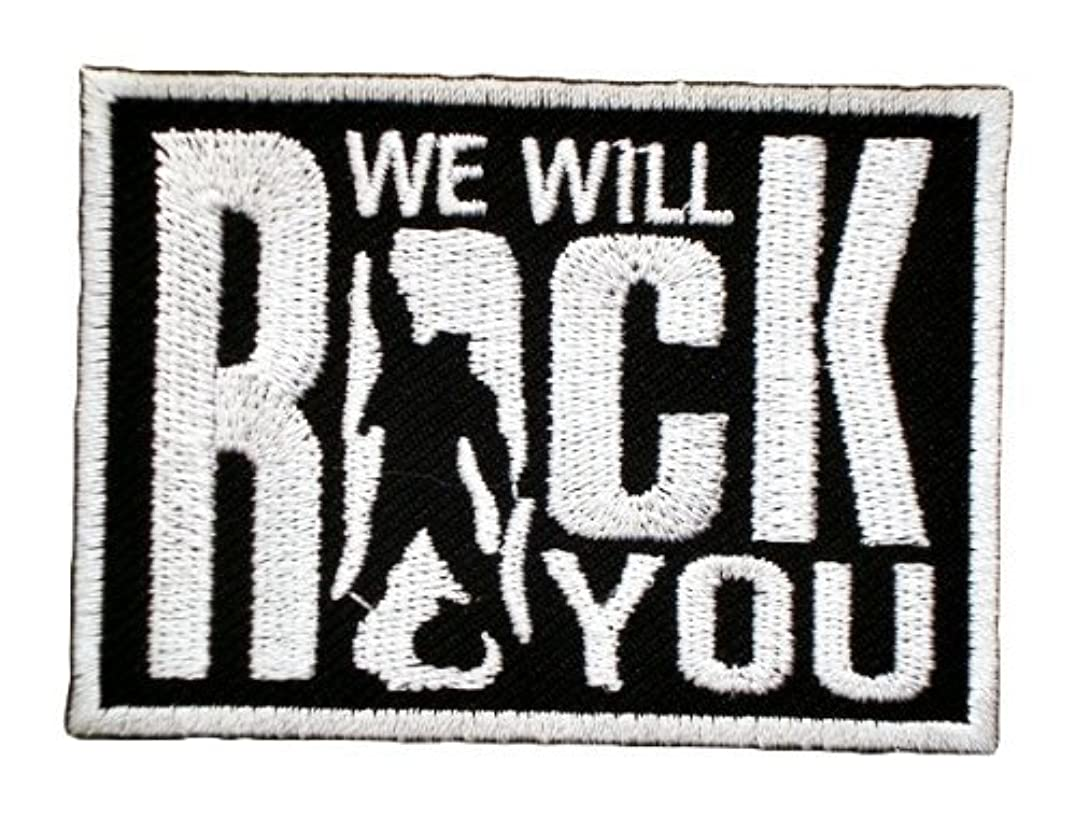 WE WILL ROCK YOU Queen Songs Rocker t Shirts MW02 Patches