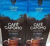 Capomo Herbal Coffee Substitute - Acid Free, Caffeine Free And Gluten Free - Natural Dark Roast - Maya Nut , - 2 Pack From Tattva's Herbs -22 oz