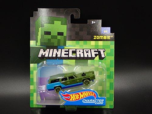 Hot Wheels Minecraft Zombie - Coche teledirigido (escala 1:64)