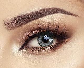 Bella Cosmetic Contact Lenses Glow, Color - Husky Gray Green, Power - Plano