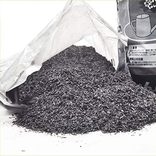 LIUKLAI El carbón Vegetal de cáscara de arroz, Medio suculento, Puede formularse como Suelo nutritivo para Mejorar el Suelo