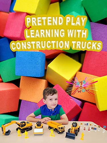 Pretend Play Learning With Construction Trucks