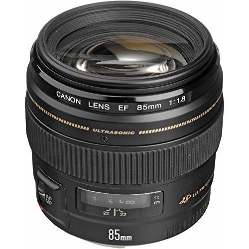 Canon EF 85mm f/1.8 USM Medium Telephoto Lens for Canon SLR Cameras - Fixed