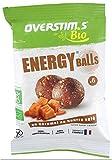 Overstims Energy Balls Bio - Lote de 6 bocadillos de caramel con manteca salada