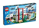 Lego City 4429 helicopter rescue base