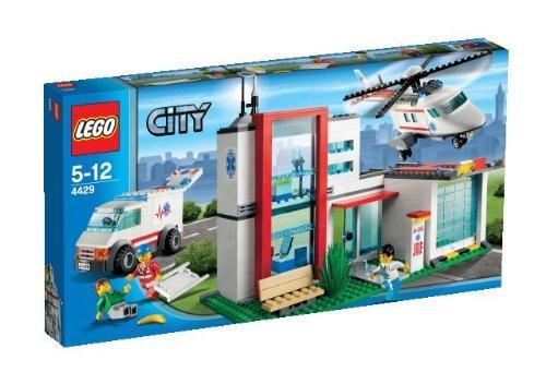 LEGO City 4429 - Helikopter Rettungsbasis