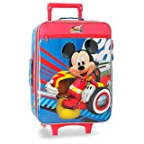 Disney World Mickey Valigia per bambini 50 centimeters 28 Multicolore (Multicolor)