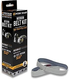 Work Sharp WSSAKO81119 Medium Grit Belt Kit