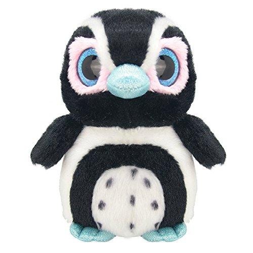 Wild Planet 16 cm orbys Pingouin Jouet en Peluche (Noir)