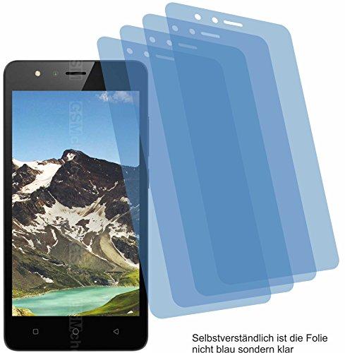 4ProTec I 4X ANTIREFLEX matt Schutzfolie für TP-Link Neffos C5A Bildschirmschutzfolie Displayschutzfolie Schutzhülle Bildschirmschutz Bildschirmfolie Folie