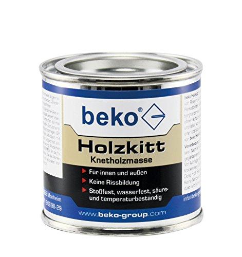 Holzkitt Knetholzmasse 110 g, buche-dunkel
