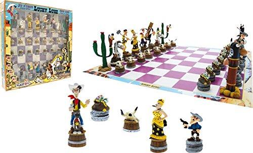 Plastoy SAS PLA69001 - Lucky Luke - Schachspiel - Lucky Luke, Brettspiel