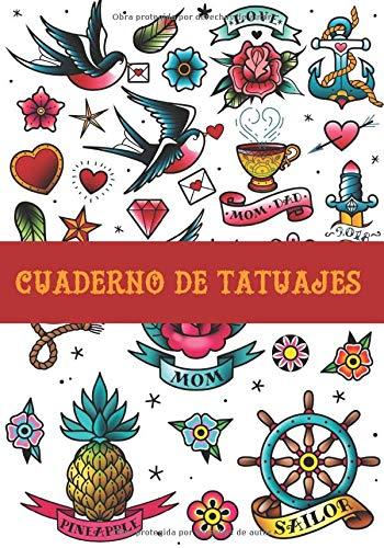 Cuaderno de Tatuajes: Registra, Ordena y Esboza tus Tatuajes - Formato 18 x 26 cm con 102 Páginas - Adecuado para Tatuadores y Aficionados a los Tattoos