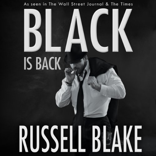 Black Is Back audiobook cover art