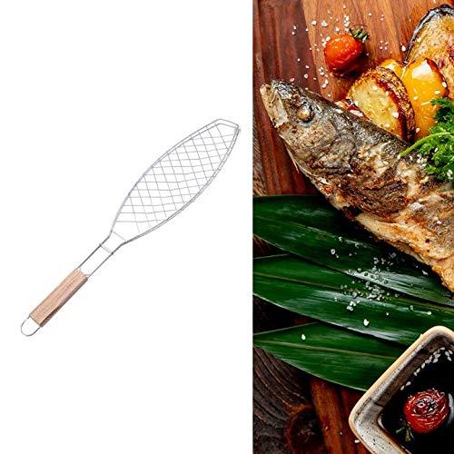 Pamura - FISCHGRILL - die praktische Zange zum Fisch BBQ - Fisch Grillkorb - Fischzange zum Grillen - Fischbräter - Fisch Grillen Gitter - Grill Zubehör