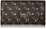 GUESS Affair Q-Logo Multi Clutch Wallet, Brown