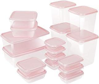 ZYCSKTL Ensemble de 17 pièces Boîte de Rangement pour Aliments Boîte de Rangement pour Cuisine Boîte scellée Boîte de Rang...