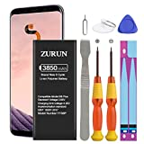 Galaxy S8 Plus Battery ZURUN 3850mAh Li-Polymer Battery EB-BG955ABE Replacement for Samsung Galaxy S8 Plus SM-G955 G955V G955A G955T G955P G955R4 G955F with Screwdriver Tool Kit [2 Year Warranty]