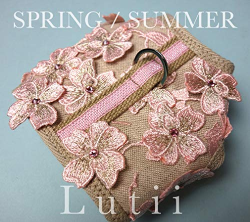 "dog harness-small dog harness vest,high fashion,designer,yorkie,chihuahua,maltese-""Spring"" w/real swarovski crystals handmade by Lutii. For dogs 1-20 pnds."