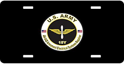 Cool License Plate Cover for US Army/US Navy/US Air Force, Custom Licence Plate Covers, 12