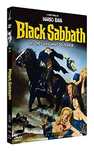 Black Sabbath. As Três Máscaras Do Terror (Com 02 [DVD]s)